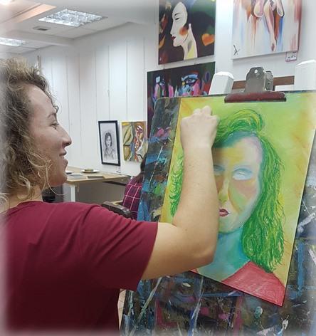 לימודי ציור ורישום ומכינה לתרפיה