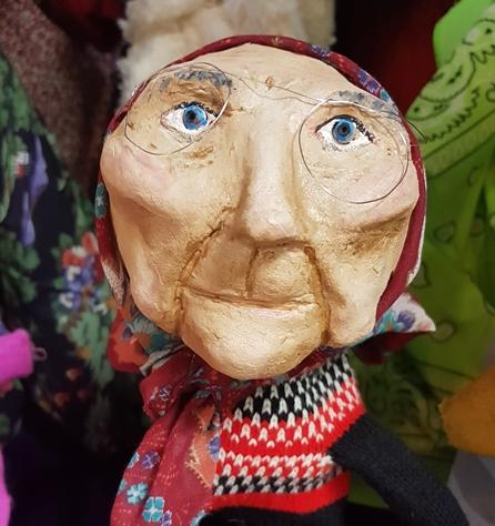 בובות טיפוליות - אמנות משקמת