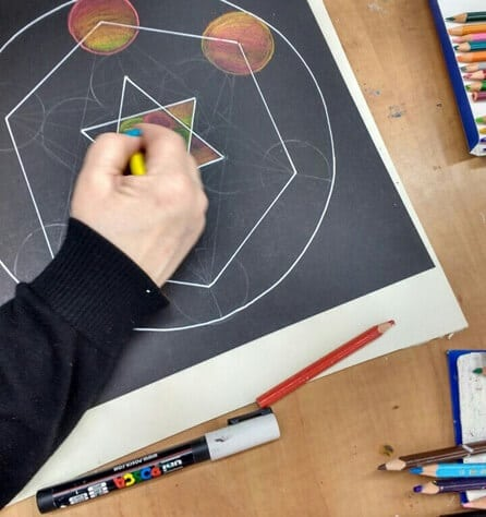 עיצוב מנדלה - מכללת ורצברגר