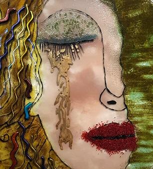ציור על זכוכית - מכללת ורצברגר