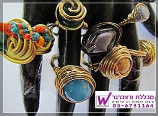 סדנא תכשיטים מחוטי אלומניום - מכללת ורצברגר