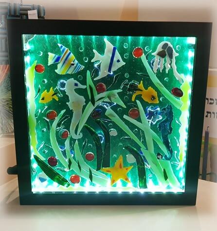 פיוזינג - התכת זכוכית - מכללת ורצברגר