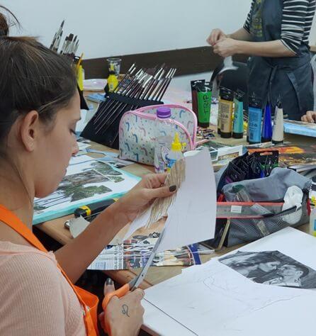 לימודי ציור - מכינה לתרפיה