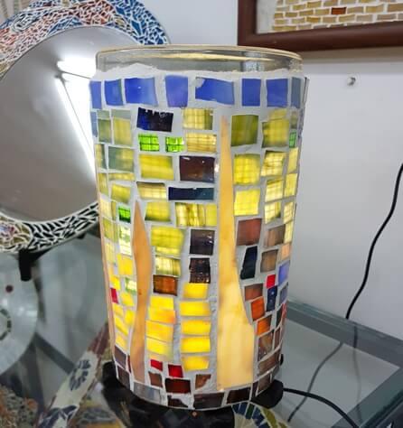 פסיפס זכוכית - מכללת ורצברגר