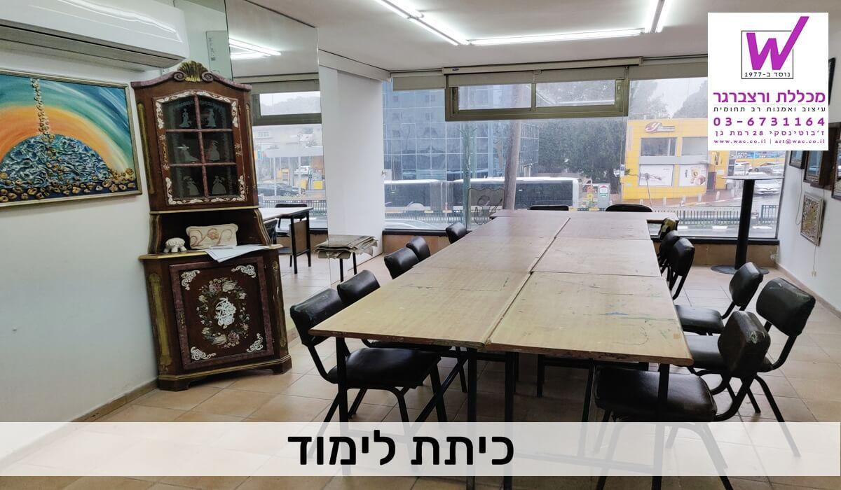 כיתת לימוד - מכללת ורצברגר